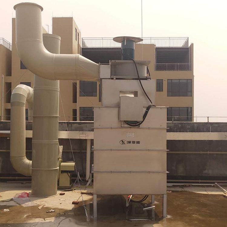 大型免维护自动清洗离心式油雾过滤器
