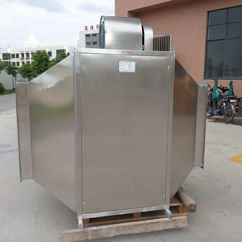 专利技术大风量UV漆雾收集器
