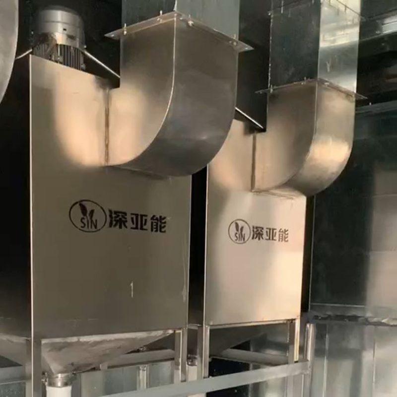 新型免维护UV漆雾净化器自动清洗